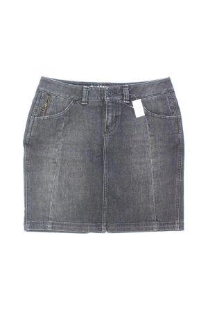 Esprit Jeansrock Größe 36 grau aus Baumwolle