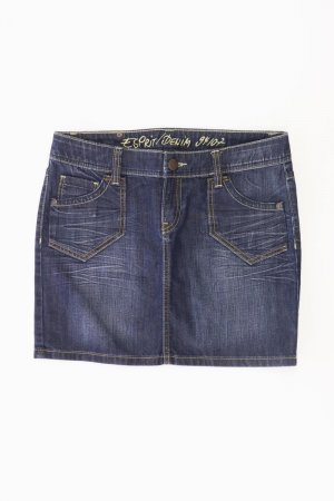 Esprit Jeansrock Größe 38 blau aus Baumwolle