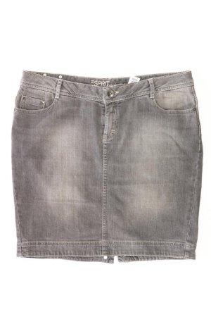 Esprit Jeansrock Größe 40 grau aus Baumwolle