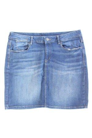 Esprit Jeansrock Größe 44 blau aus Baumwolle