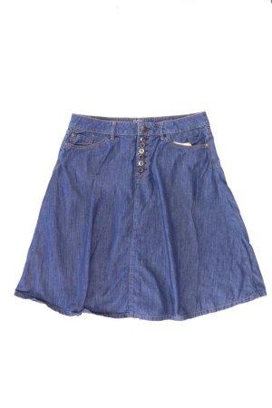 Esprit Jeansrock Größe W27 blau aus Baumwolle