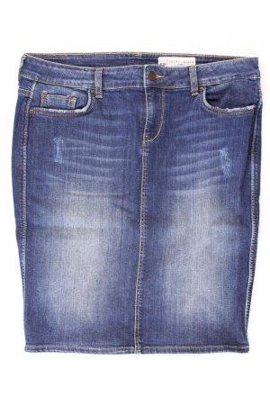 Esprit Jeansrock Größe W28 blau aus Baumwolle