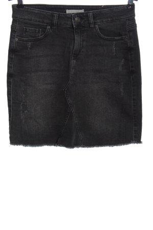 Esprit Jeansowa spódnica czarny W stylu casual