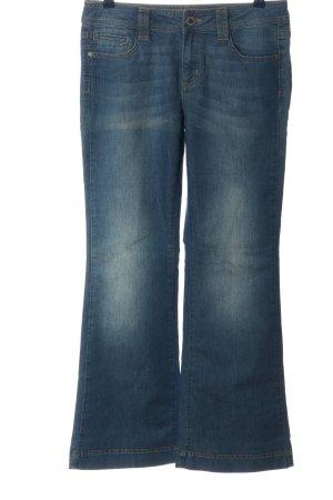 Esprit Jeansowe spodnie dzwony niebieski W stylu casual
