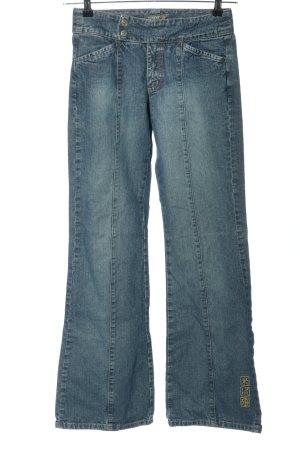 Esprit Jeans flare bleu style décontracté
