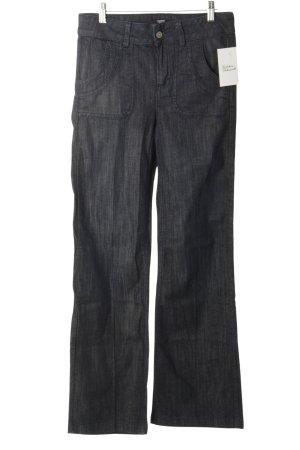 Esprit Jeansschlaghose dunkelblau Casual-Look