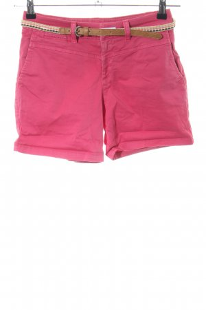 Esprit Jeansshorts rot Casual-Look