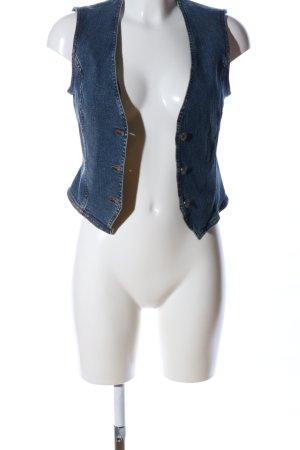 Esprit Spijkervest blauw casual uitstraling