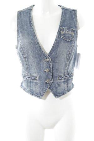 Esprit Jeansweste blau Casual-Look