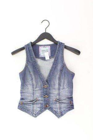 Esprit Jeansweste Größe XS blau aus Baumwolle