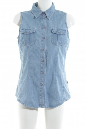 Esprit Jeansweste himmelblau Country-Look