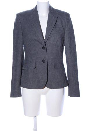 Esprit Jerseyblazer hellgrau Karomuster Business-Look