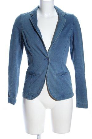 Esprit Jerseyblazer blau meliert Casual-Look