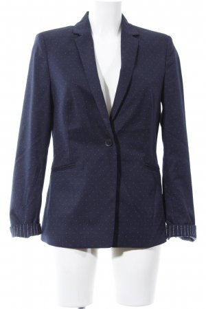 Esprit Jerseyblazer blau Punktemuster Business-Look