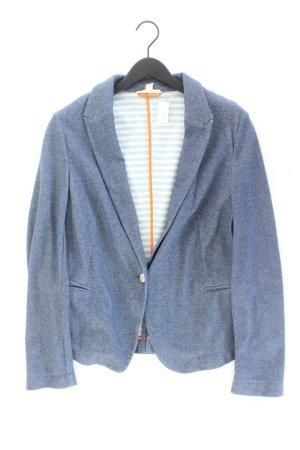 Esprit Jerseyblazer Größe 44 blau aus Baumwolle
