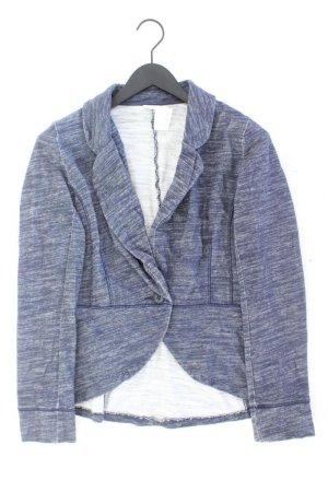Esprit Jersey blazer blauw-neon blauw-donkerblauw-azuur Katoen