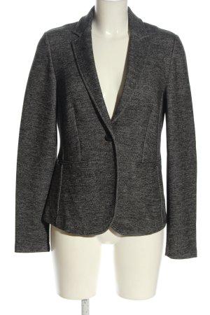 Esprit Blazer en jersey gris clair moucheté style décontracté