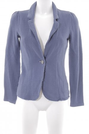 Esprit Jerseyblazer stahlblau Business-Look