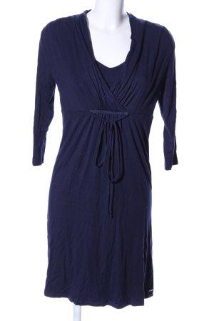 Esprit Jerseykleid blau Business-Look