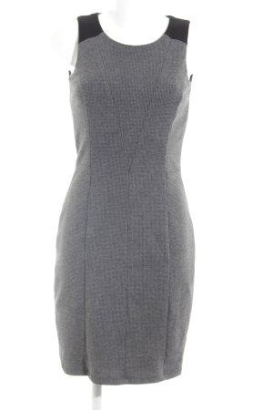Esprit Jerseykleid grau-schwarz Casual-Look