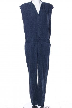 Esprit Jumpsuit blau Allover-Druck Casual-Look