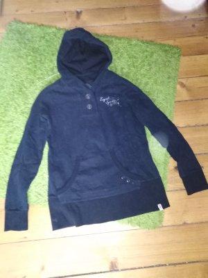 Esprit Shirt met capuchon zwart