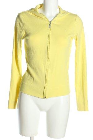 Esprit Kurtka z kapturem bladożółty W stylu casual