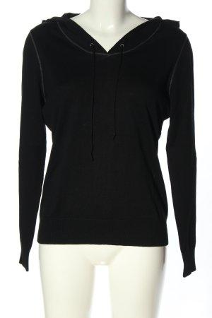 Esprit Camicia con cappuccio nero stile casual