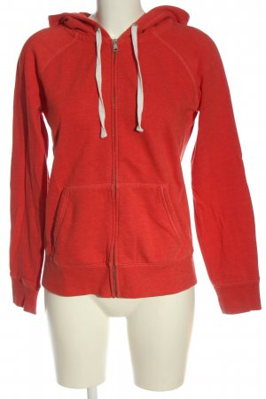 Esprit Sweat à capuche rouge style athlétique