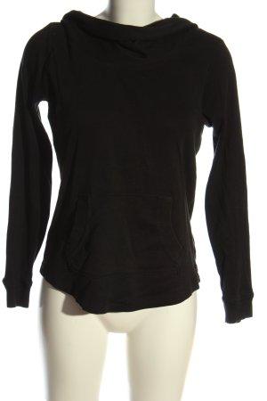 Esprit Kapuzensweatshirt schwarz Casual-Look