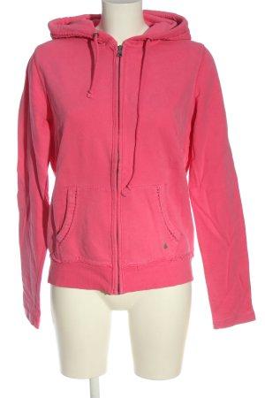 Esprit Sweat à capuche rose style décontracté