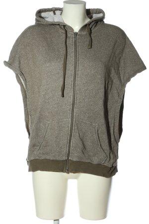 Esprit Kamizelka z kapturem jasnoszary-khaki Melanżowy W stylu casual