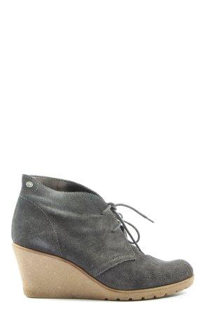 Esprit Wedge Booties light grey casual look