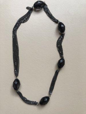 Esprit Collar negro-gris