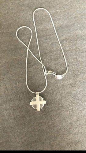 Esprit Kette Kreuz Silber