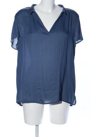Esprit Kimono-Bluse blau Casual-Look