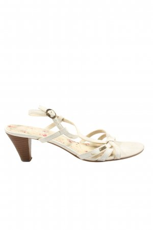 Esprit Riemchen-Sandaletten wollweiß Casual-Look