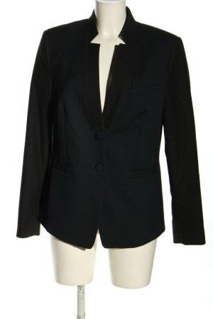 Esprit Klassischer Blazer schwarz Business-Look