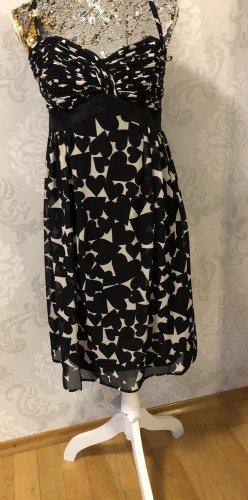 Esprit Robe bandeau noir-crème