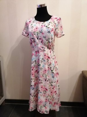 Esprit Summer Dress white-pink