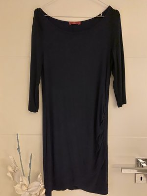 Esprit Vestido de tela de jersey azul oscuro