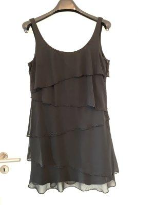 Esprit Kleid Gr 40 schwarz kurz