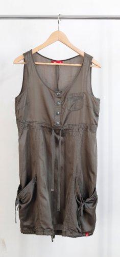 Esprit Kleid grüngrau