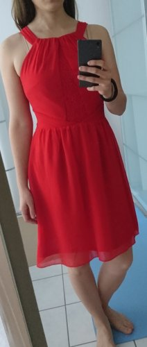 esprit collection Halter Dress red polyester