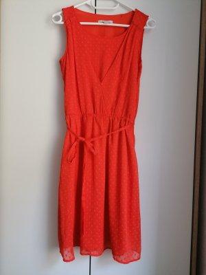 Esprit Kleid rot knallig XS 34 Sommerkleid