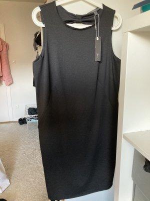 Esprit Vestido cut out negro