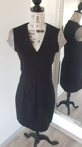 Esprit Kleid schwarz Businesskleid Abendkleid Cocktailkleid 38 M