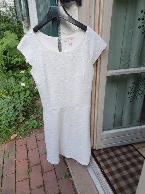 Esprit Kleid, weiß,  Gr. 34