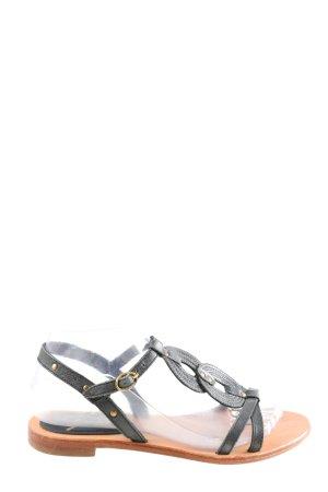 Esprit Komfort-Sandalen schwarz-braun Casual-Look