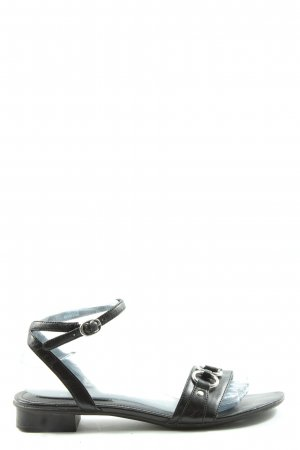Esprit Komfort-Sandalen schwarz Casual-Look
